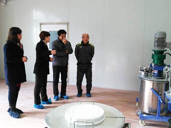 日本东芝陶瓷公司研究所岛井骏藏来厂指导访问(1)